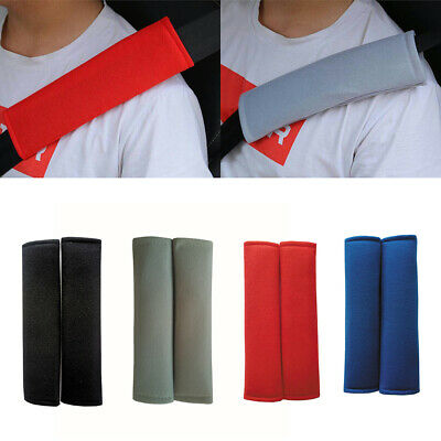 2pcs Car Seat Belt Pad Harness Safety Shoulder Strap Bag Backpack Cushion Cover