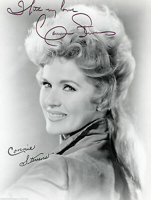 Connie Stevens Signed Autographed 8X10 Promo Photo Close Up With Coa
