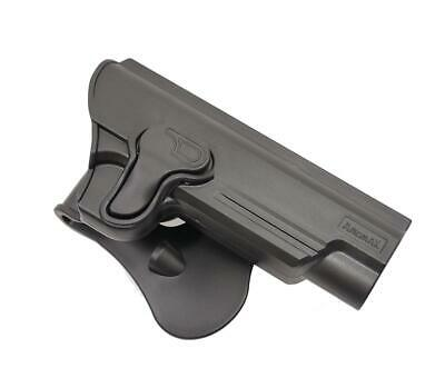 "Amomax Airsoft Retention Holster 1911 5"" Black R/H #1911G2 Tokyo Marui WE bb's"