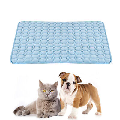 Summer Pet Cooling Blanket Comfortable Cats Puppy Sleeping Mat Cool Pad