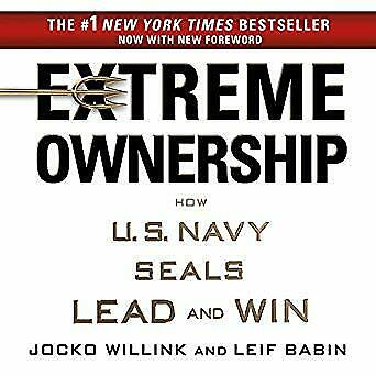Extreme Ownership: How U.S. Navy SEALs Lead and Win- Audiobook - NO CD