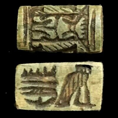 Beautiful Ancient Egyptian Amulet 300 Bc (26)