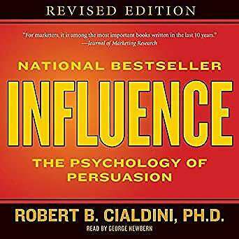 Influence: The Psychology of Persuasion- Audiobook - NO CD