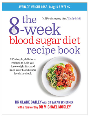 The 8-week Blood Sugar Diet Recipe Book Simple Delicious Meals for Weight Loss