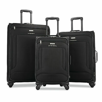 """American Tourister Pop Max 3 Piece Luggage Suitcase Spinner Set (29""""/25""""/21"""")"""