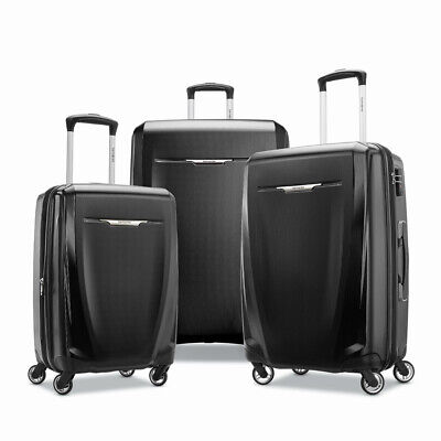"Samsonite Winfield 3 DLX 3 Piece Spinner Luggage Suitcase Set (20""/25""/28"")"