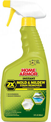 Powerful Instant Mold and Mildew Stain and Odors Remover Home Armor 32-fl oz