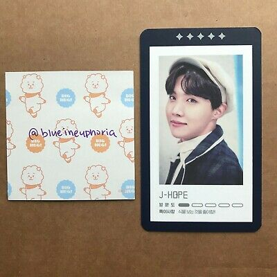 BTS 5th Muster Magic Shop Guestbook Photocard Official - J Hope 5/5