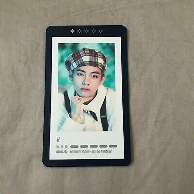 BTS 5th Muster Magic Shop Guestbook Photocard Official - V 1/5