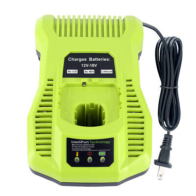 Battery Charger P117 for Ryobi 18V One+ Plus P100 P108 P104 Lithium&NICD Battery