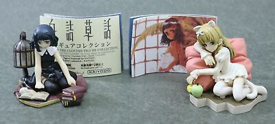 """Little Witch Episode of the Clovers Figure 2PCS Authentic 2"""" Kaiyodo Japan"""