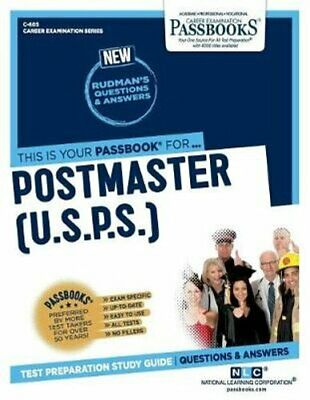 Postmaster, 1st, 2nd, 3rd Classes (U.S.P.S.) 9781731806055 | Brand New