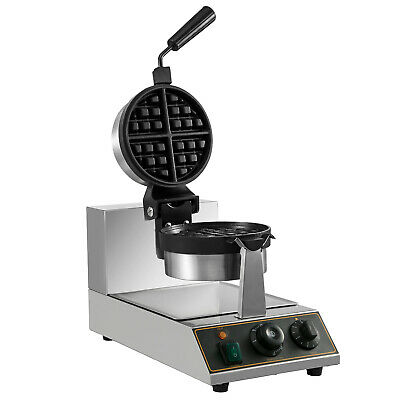 UNIWORLD STAINLESS STEEL Commercial Waffle Maker w/ 4-Single