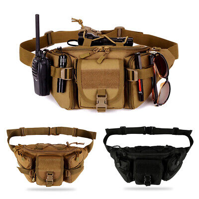 Army Military Fanny Hip Belt Bag Pack BagBase Molle Utility Waist Pack BG842