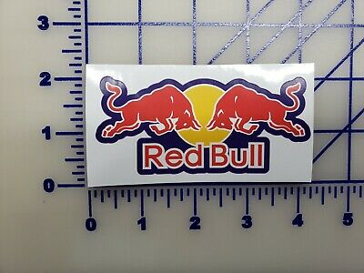Red Bull wings sticker decal