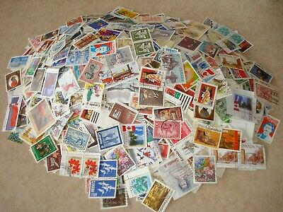 Canada Stamps 100 Large All Different Random Pick