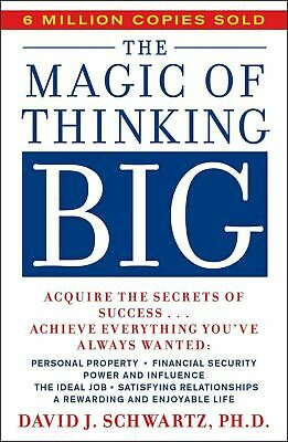 E Book The Magic of Thinking Big by David J. Schwartz PDF, Epub, Kindle