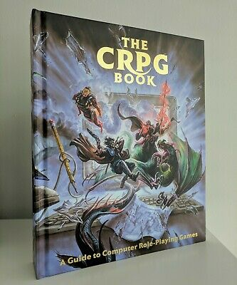 THE CRPG BOOK: A Guide To Computer Role Playing Games NEW over 500 Pages -  Rare