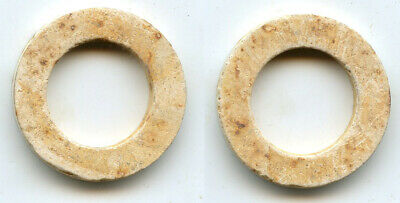100% authentic late jade Yubi (ring), Western Han dynasty (206 BC - 9 AD), China