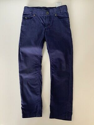 Hugo Boss Slim Fit Boys Navy Blue Jeans Age 5 Years Gc
