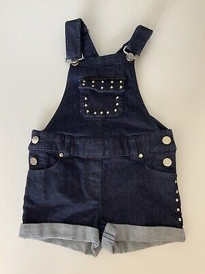 Givenchy Girls  Blue Denim Dungarees  Age 5 Years Immaculate Condition