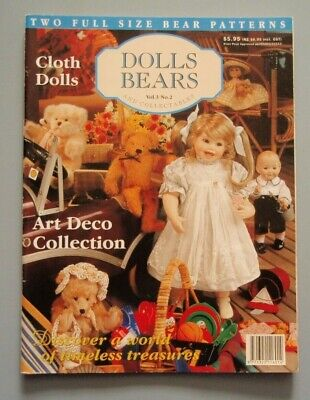 Australian Dolls Bears and Collectables Magazine Volume 3 No 2