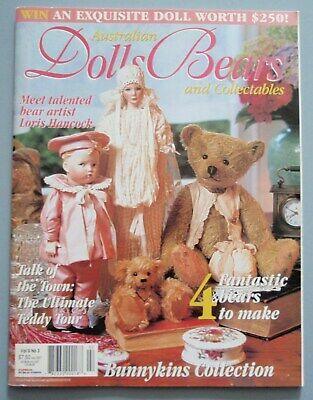 Australian Dolls Bears and Collectables Magazine Volume 9 No 3