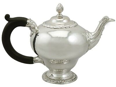 Georgian Sterling Silver Bachelor Teapot 1760s