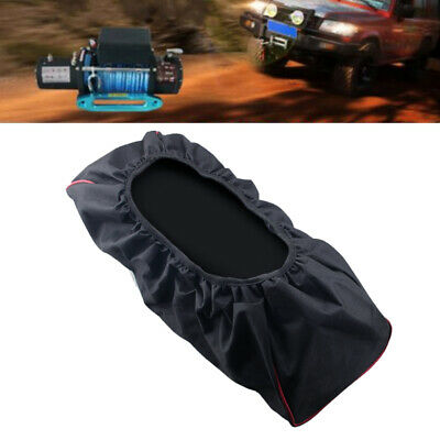 Waterproof Soft Winch Cover 8000-17500lbs Heavy Duty Trailer Driver Recovery New