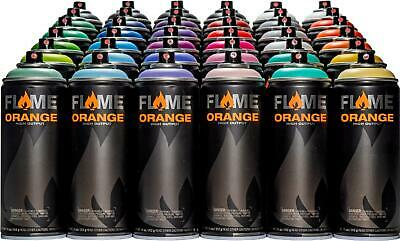 Flame Naranja Spray Paint 36 Can Bundle