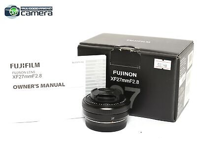 Fujifilm Fujinon XF 27mm F/2.8 Aspherical Lens Black X-Mount *EX in Box*