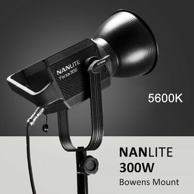 NANLITE Forza 60W 300W Outdoor 5600K LED Monolight COB Light Bowens Mount Studio