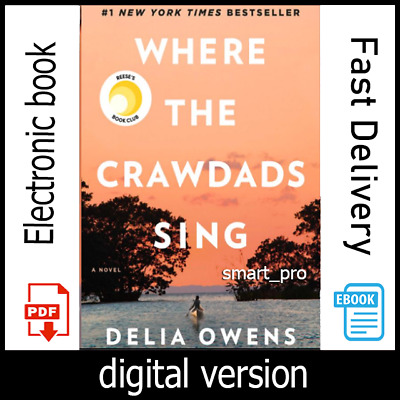 Where the Crawdads Sing By Delia Owens [P.D.F - E.P.U.B] Fast Delivery