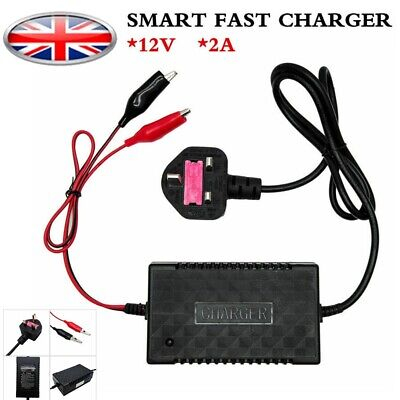 Intelligent 12V Motorbike Motorcycle Battery Charger Smart Trickle Toy Automatic