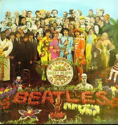 The Beatles(2nd pressing Vinyl LP Gatefold)SGT. Pepper's Lonely Hearts -VG/VG