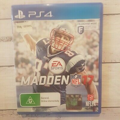 🏈 Madden NFL 17    Sony PlayStation 4/PS4    Pre-owned    EA Sports