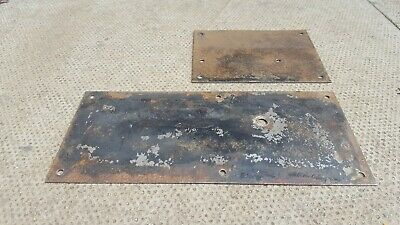 Land Rover Series 2 2A 3 Bulkhead Footwell Plates