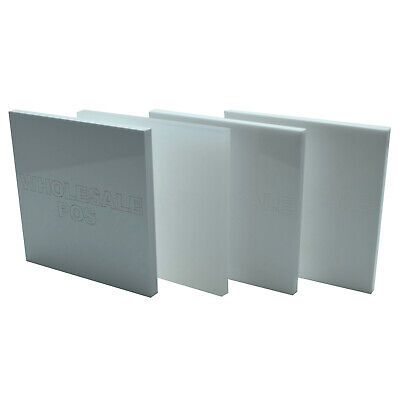 White Colour, Matte & Frosted Perspex Acrylic Plastic Sheets 2mm,3mm,5mm Thick