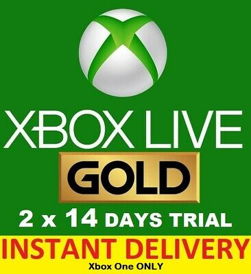 Xbox Live Gold 1 Month Worldwide Membership Code (2x14 Day) INSTANT DELIVERY
