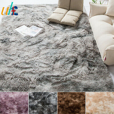Soft Shaggy Rugs Floor Carpet Living Room Bedroom Area Rugs Large Rug Home Decor