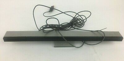 GENUINE - Wired Infrared Sensor Bar For Nintendo Wii Includes Stand