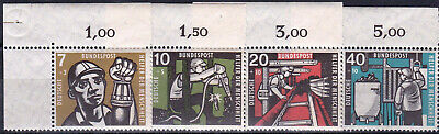 Germany - B356 - 59 Mnh Margin Singles - Look!