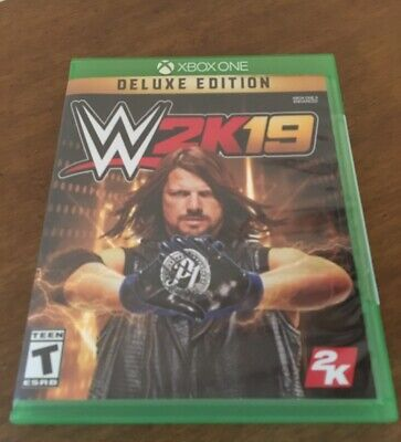 WWE 2k19 Deluxe Edition Xbox One Game No DLC