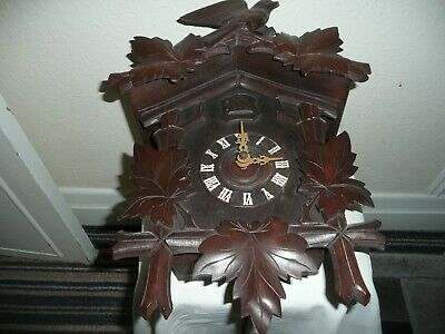 Large, Antique Cuckoo Clock, Great Condition but Needs Restoration.