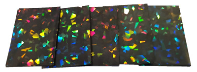 YuGiOh Card Sleeves - Holographic 62x89mm - Small Size - Yu-Gi-Oh Deck Protector