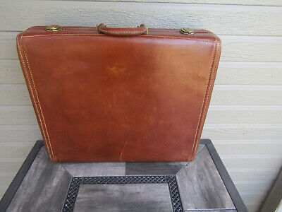 Vintage Hartmann Knocabout Suitcase Luggage Carry-On Leather