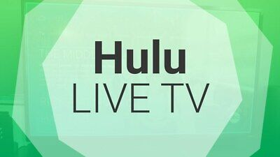 HULU No Commercials + Live TV  | 1 Year Warranty | Quick Delivery