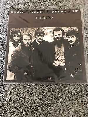 *The Band* by The Band Vinyl Record LP Mobile Fidelity Sound Lab MOFI MFSL NEW!!