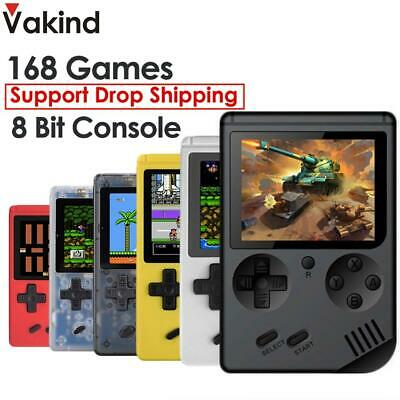 VAKIND RS-6A Retro Portable Mini Handheld Game Console 8-Bit 3.0 Inch Color LCD