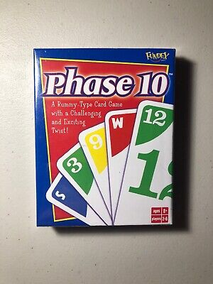 Brand NEW Sealed Fundex Phase 10 Card Game - Games (fundex)